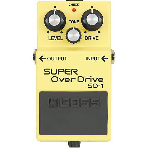 Boss SUPER OverDrive SD-1 Pedal thumbnail