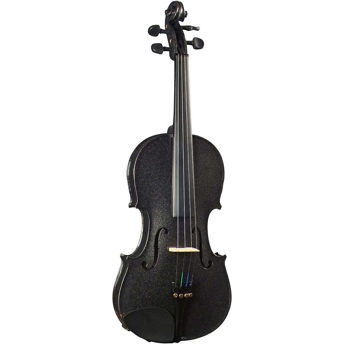 Cremona SV-130BK Series Sparkling Black Violin Outfit thumbnail