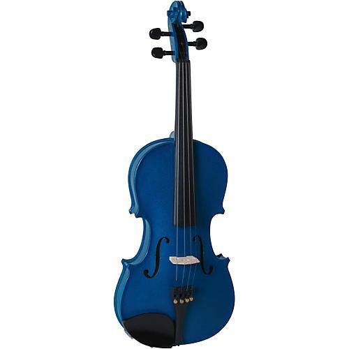 Cremona SV-130BU Series Sparkling Blue Violin Outfit thumbnail