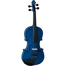 Cremona SV-130BU Series Sparkling Blue Violin Outfit