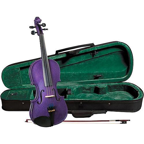 Cremona SV-75PP Premier Novice Series Sparkling Purple Violin Outfit thumbnail