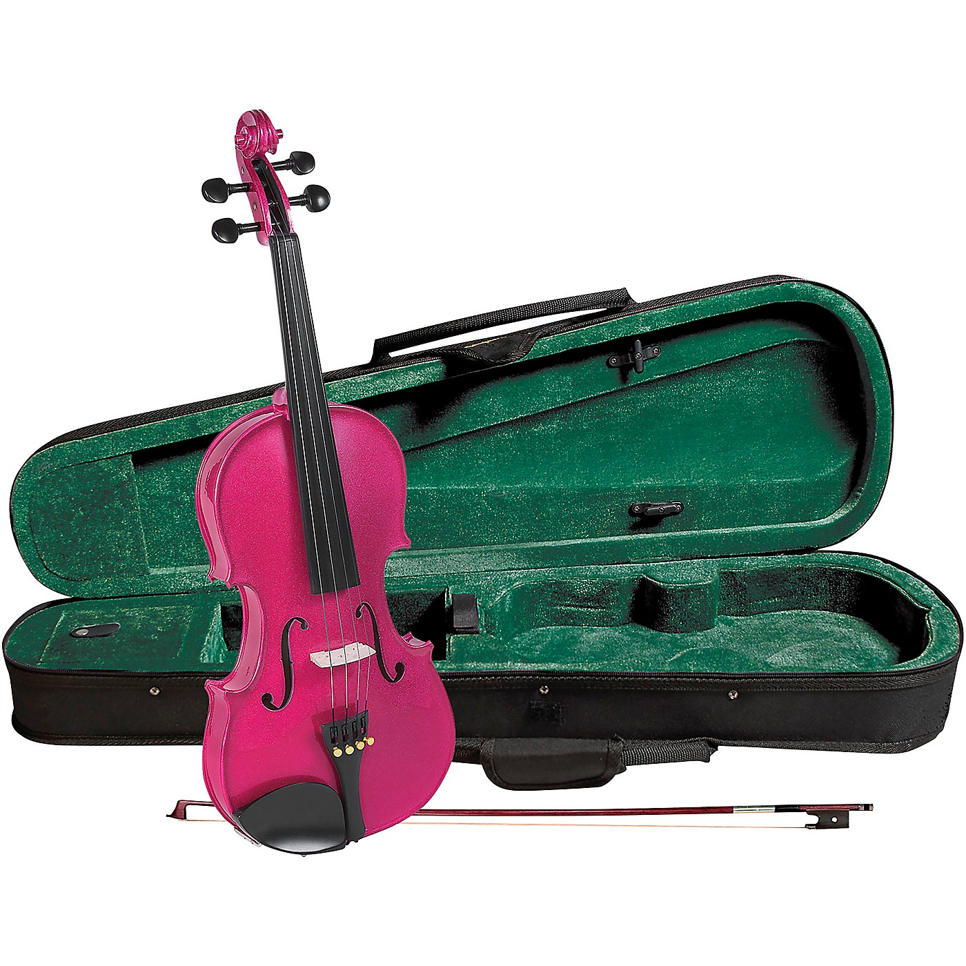Cremona SV-75RS Premier Novice Series Sparkling Rose Violin Outfit thumbnail