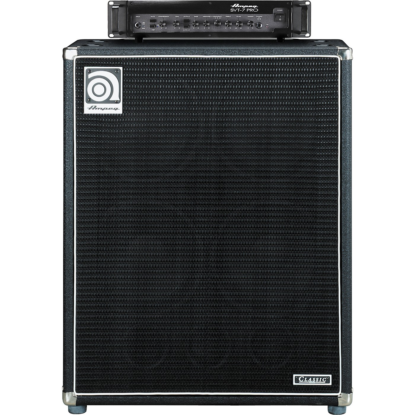 Ampeg SVT-7PRO Head and SVT-410HLF Cabinet Bass Stack thumbnail