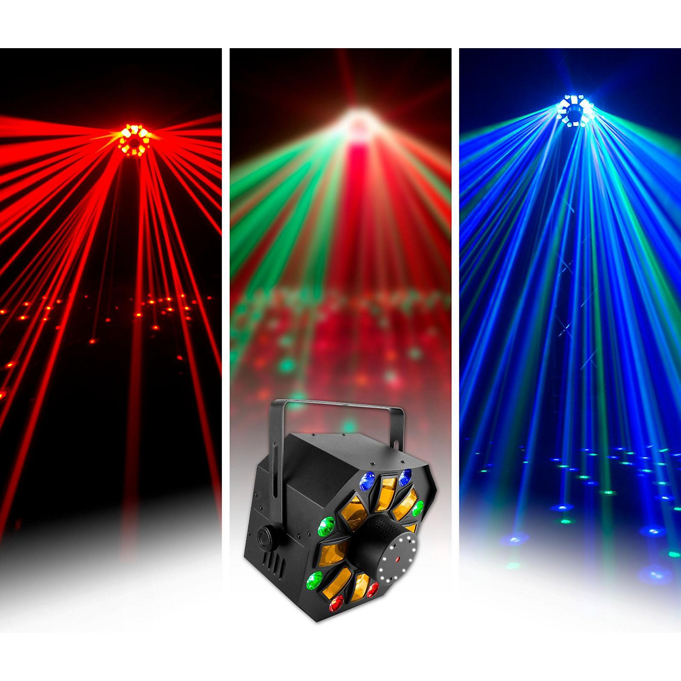 CHAUVET DJ SWARMWASHFX Stage Laser with LED Lighting Effect and Strobe Light thumbnail