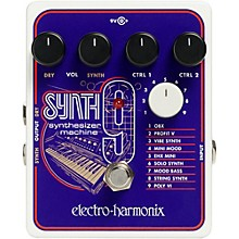 Electro-Harmonix SYNTH9 Synthesizer Machine Pedal