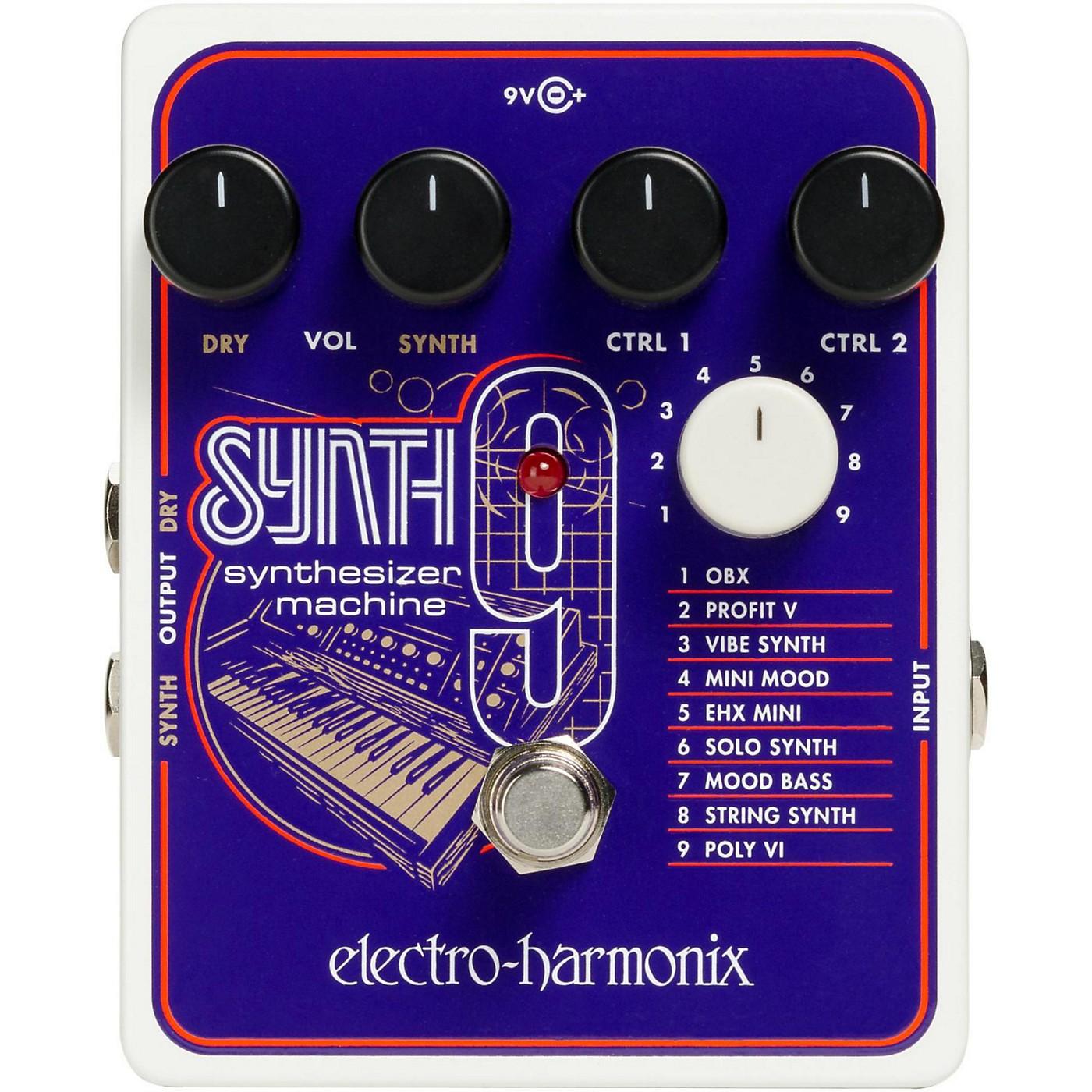 Electro-Harmonix SYNTH9 Synthesizer Machine Pedal thumbnail