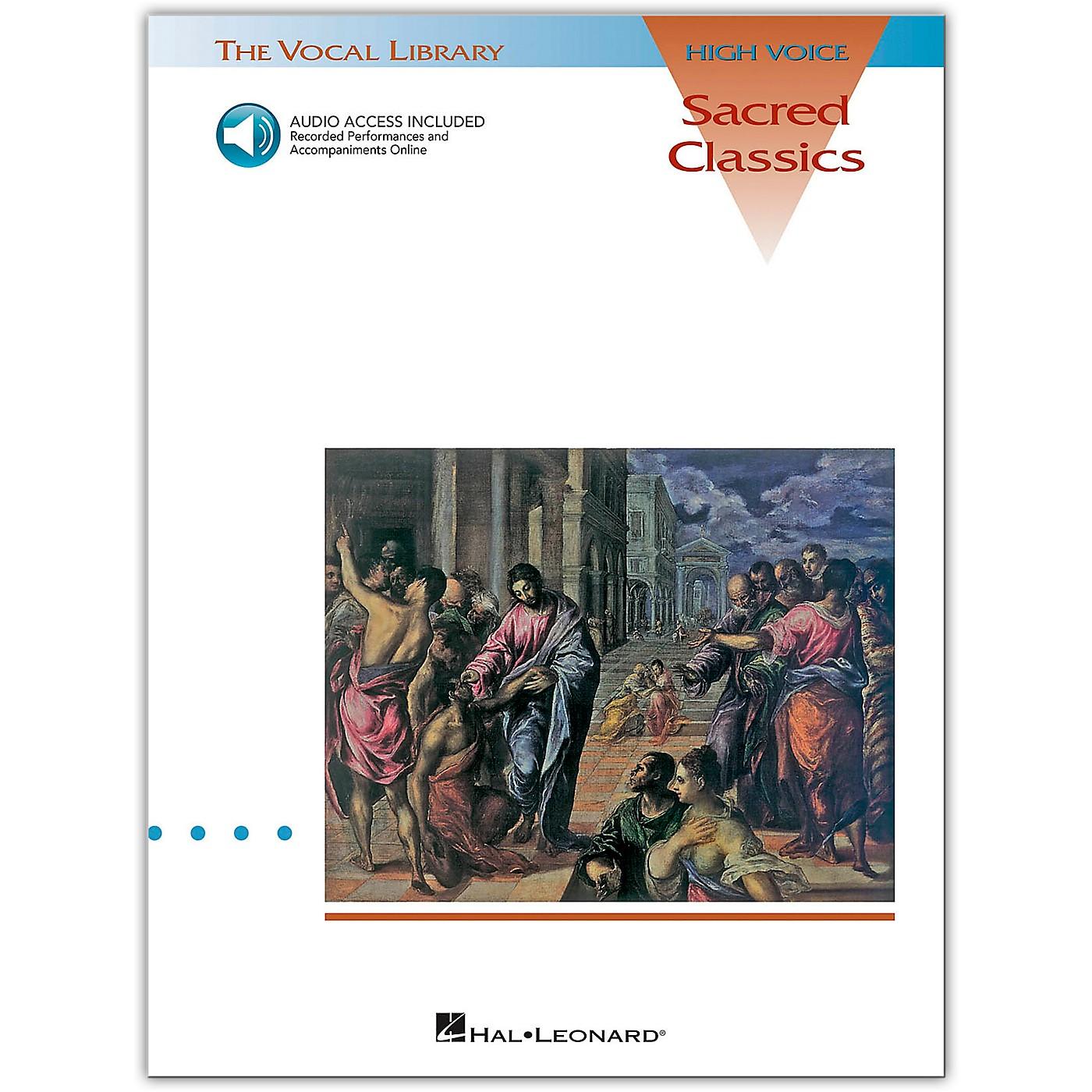 Hal Leonard Sacred Classics for High Voice (Book/Online Audio) thumbnail