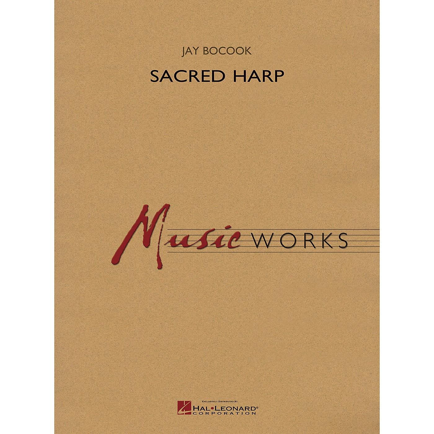 Hal Leonard Sacred Harp Concert Band Level 5 Composed by Jay Bocook thumbnail