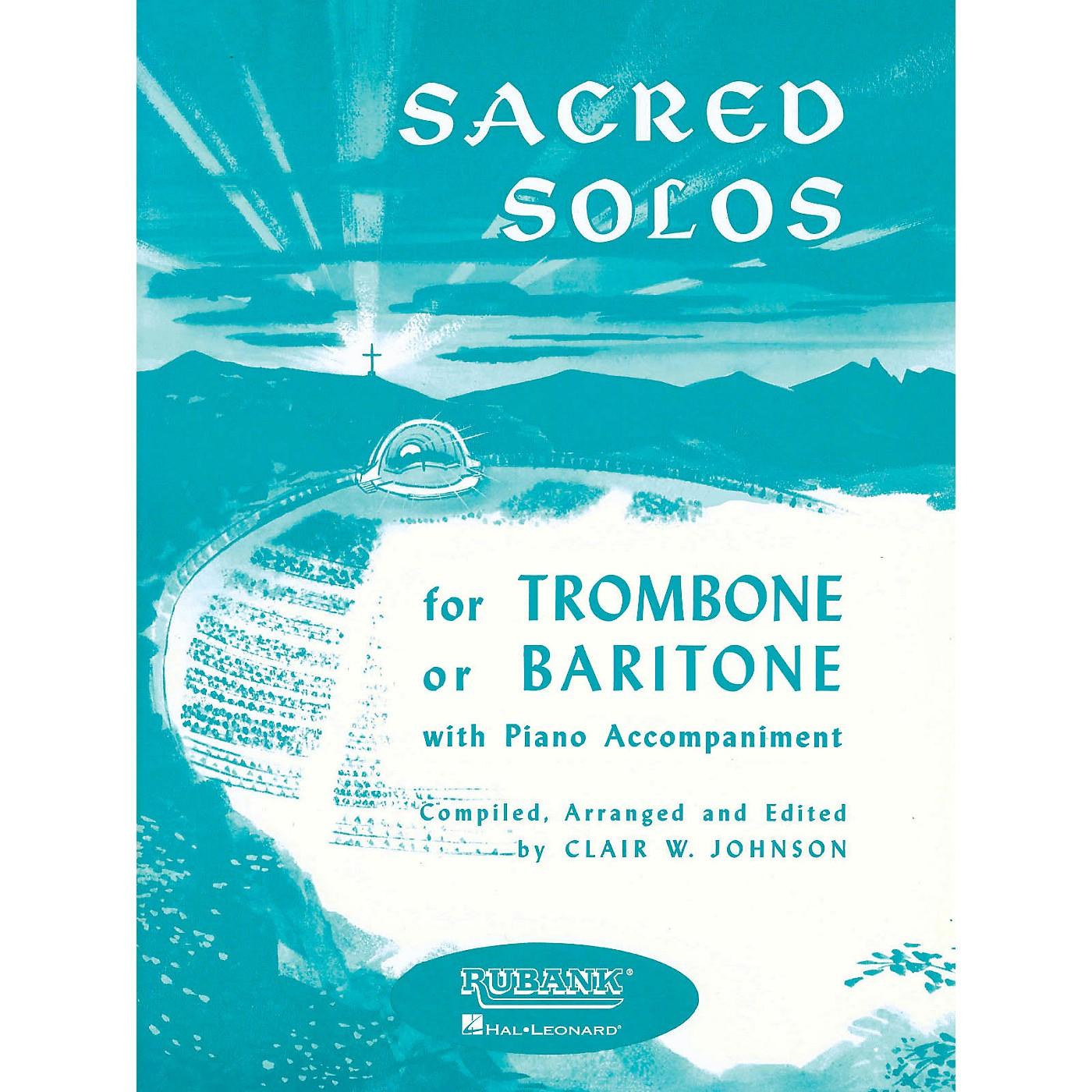 Rubank Publications Sacred Solos (Trombone (Baritone B.C.) Solo with Piano) Rubank Solo Collection Series thumbnail
