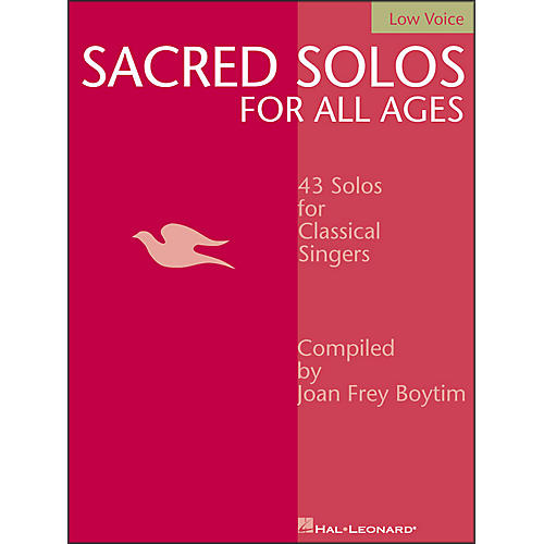 Hal Leonard Sacred Solos for All Ages for Low Voice thumbnail