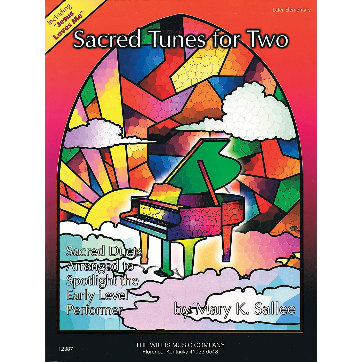 Willis Music Sacred Tunes for Two (1 Piano, 4 Hands/Later Elem Level) Willis Series thumbnail