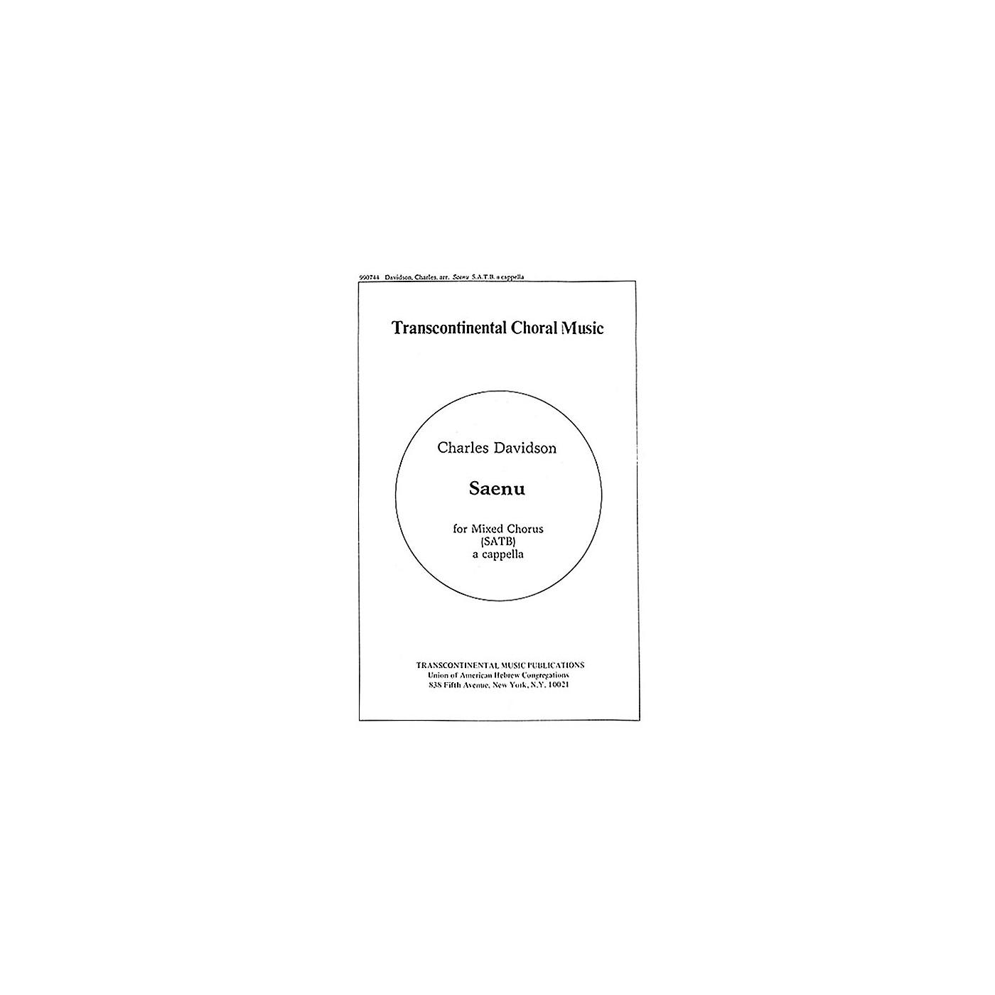Hal Leonard Saenu (Listen To The Bells) SATB arranged by Charles Davidson thumbnail