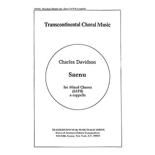 Hal Leonard Saenu (Listen To The Bells) SATB arranged by Charles Davidson thumbnail