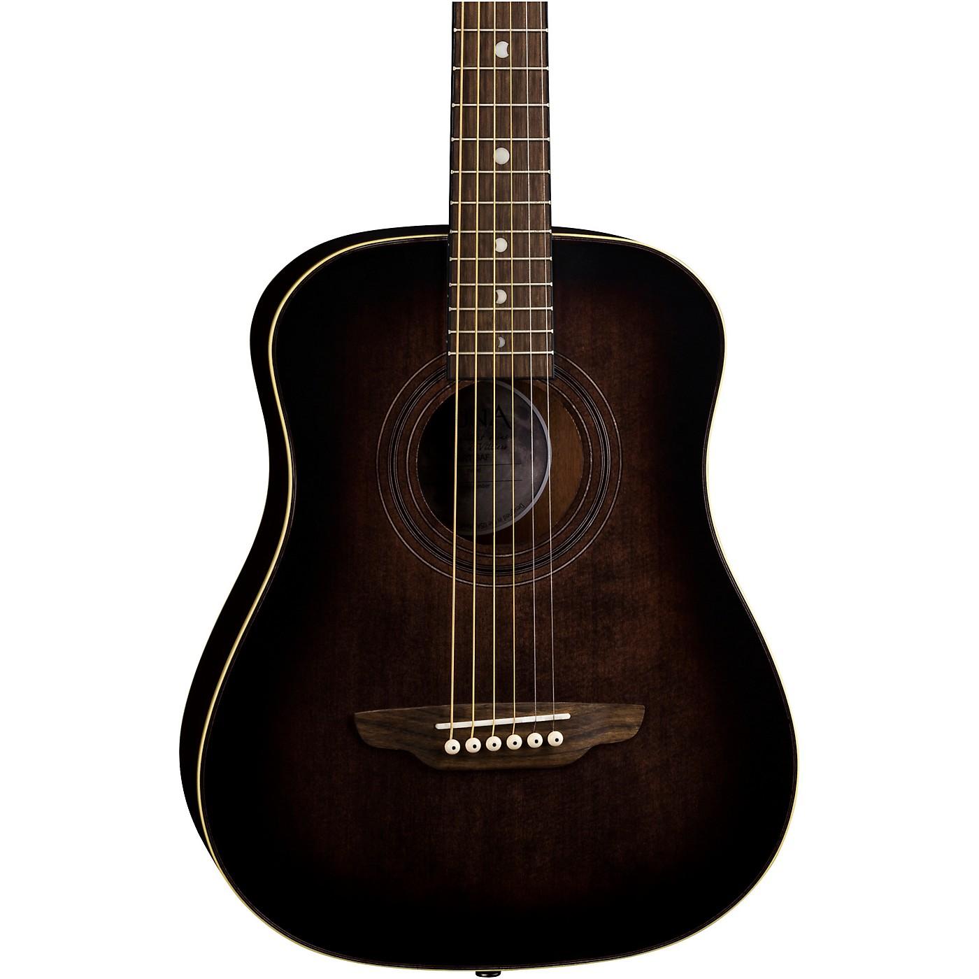 Luna Guitars Safari Artist Vintage Travel Acoustic Guitar thumbnail