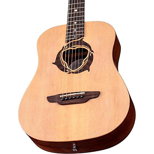 Luna Guitars Safari Dolphin 3/4 Size Travel Acoustic Guitar thumbnail