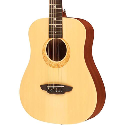 Luna Guitars Safari Muse Spruce 3/4 Size Travel Acoustic Guitar Package thumbnail