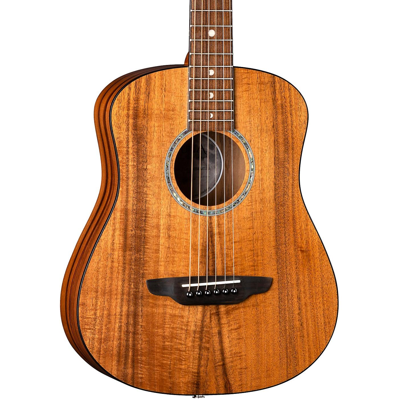 Luna Guitars Safari Solid Koa Top 3/4 Size Acoustic/Electric Guitar thumbnail