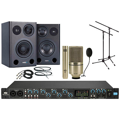 Focusrite Saffire Pro 40 MXL 990/991 Package thumbnail