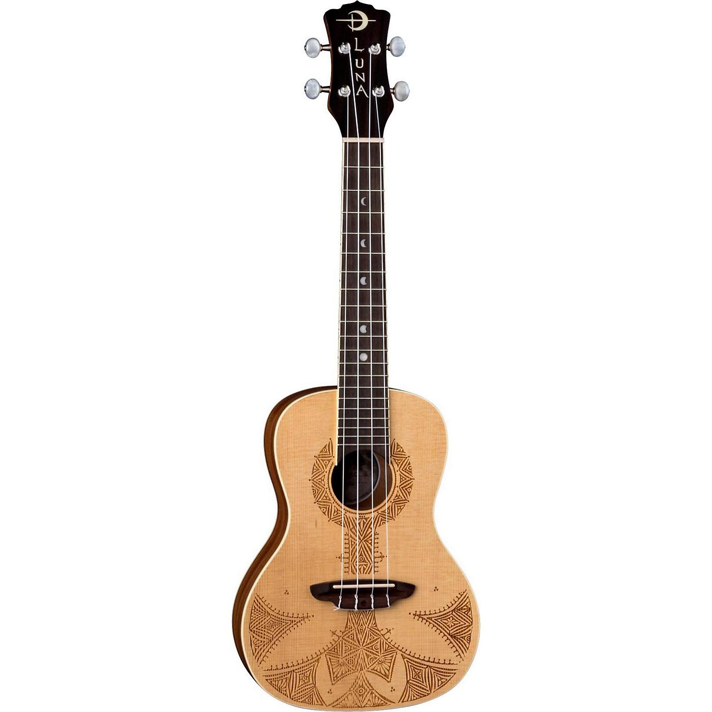 Luna Guitars Sahara Spruce Ukulele thumbnail