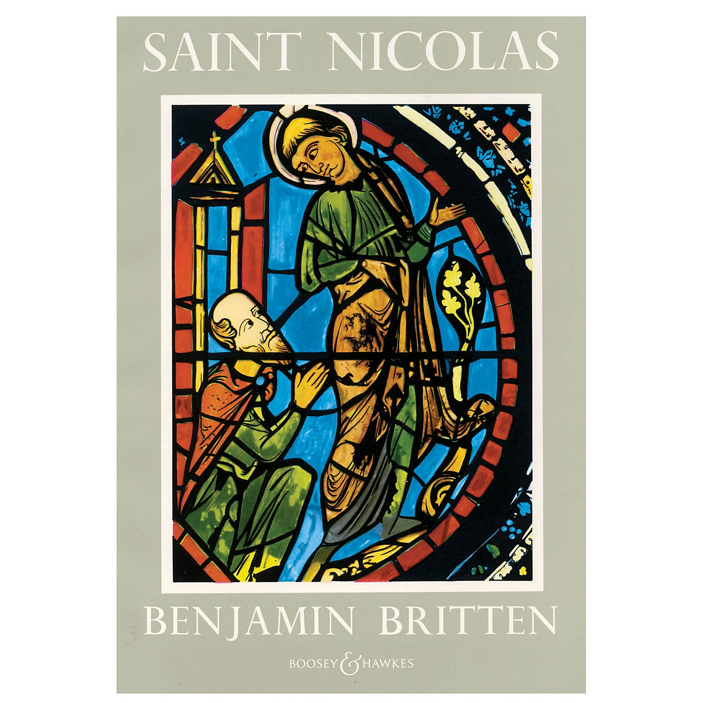 Boosey and Hawkes Saint Nicolas, Op. 42 (A Cantata (1947-48) Vocal Score) Vocal Score composed by Benjamin Britten thumbnail