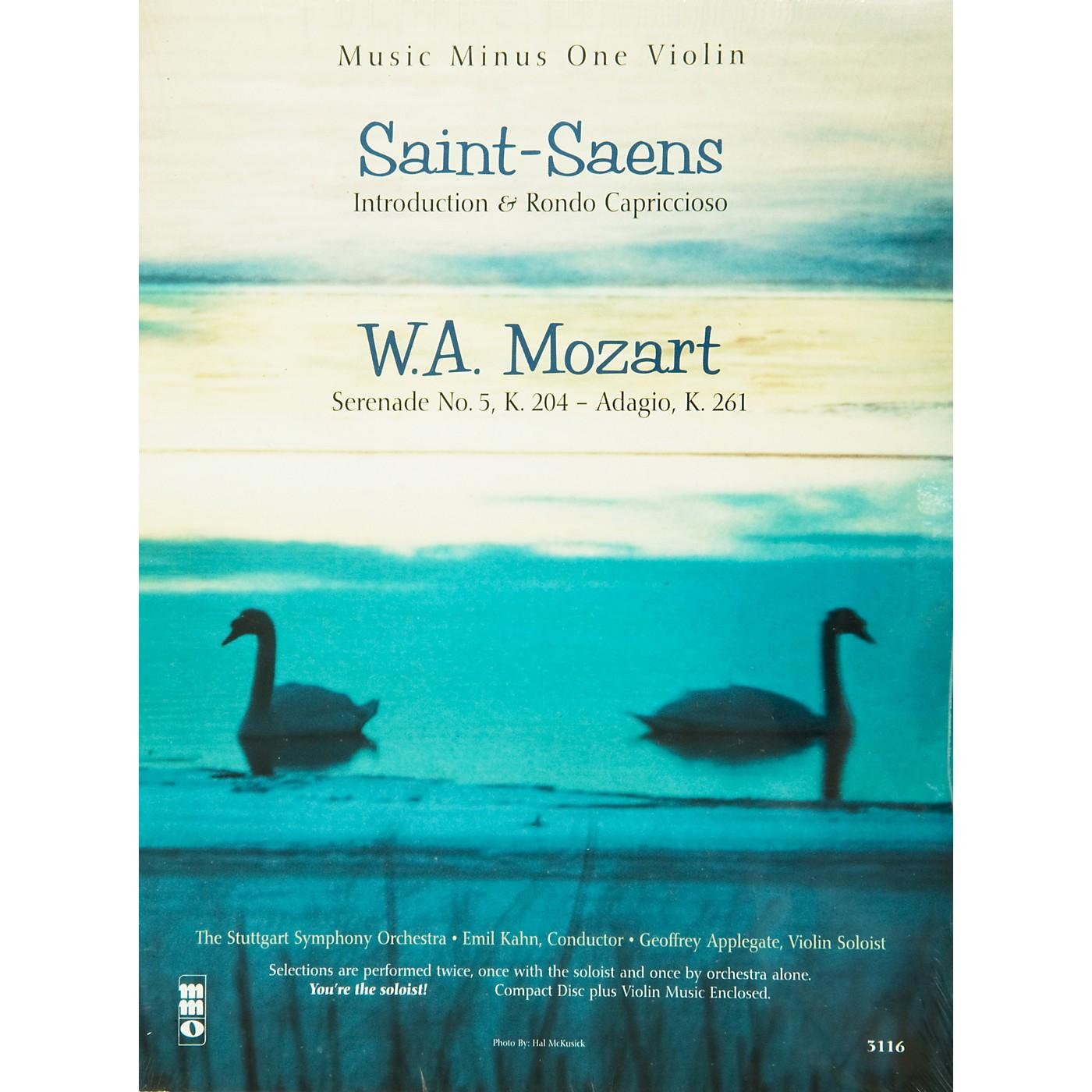 Hal Leonard Saint Saens and Mozart for Violin thumbnail