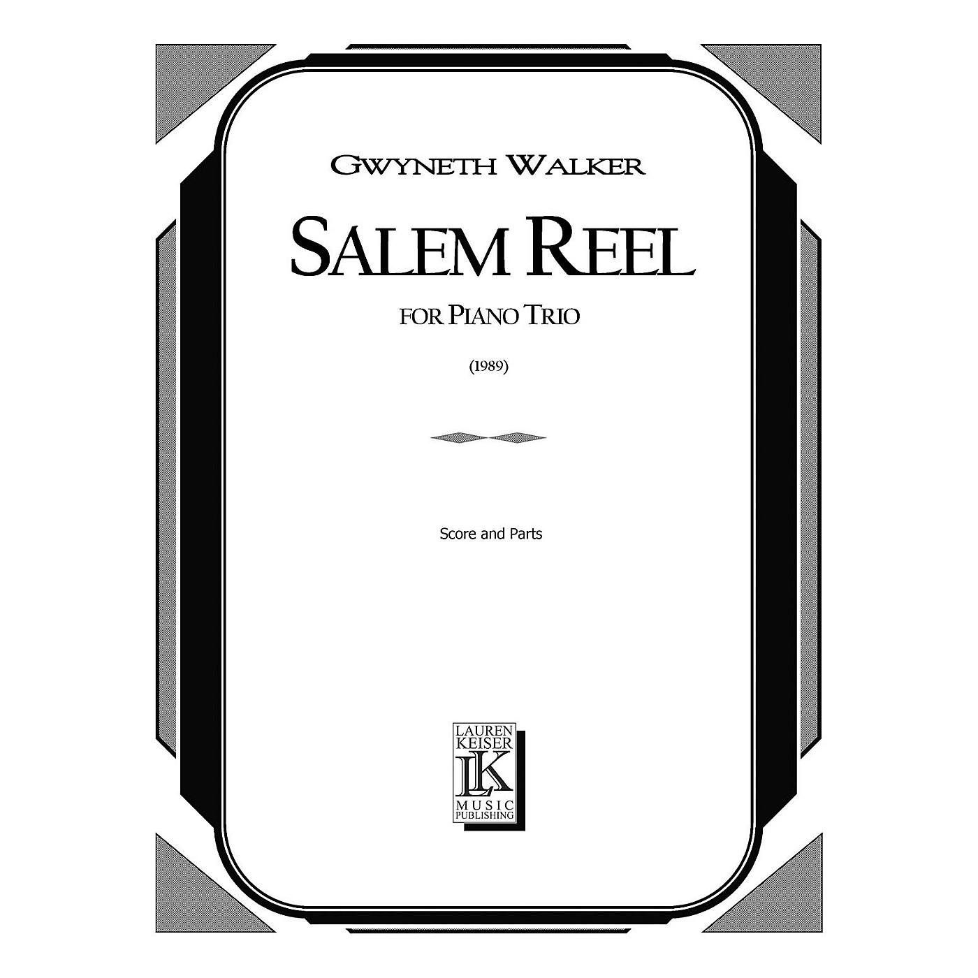 Lauren Keiser Music Publishing Salem Reel (Piano, Violin, Cello) LKM Music Series Composed by Gwyneth Walker thumbnail