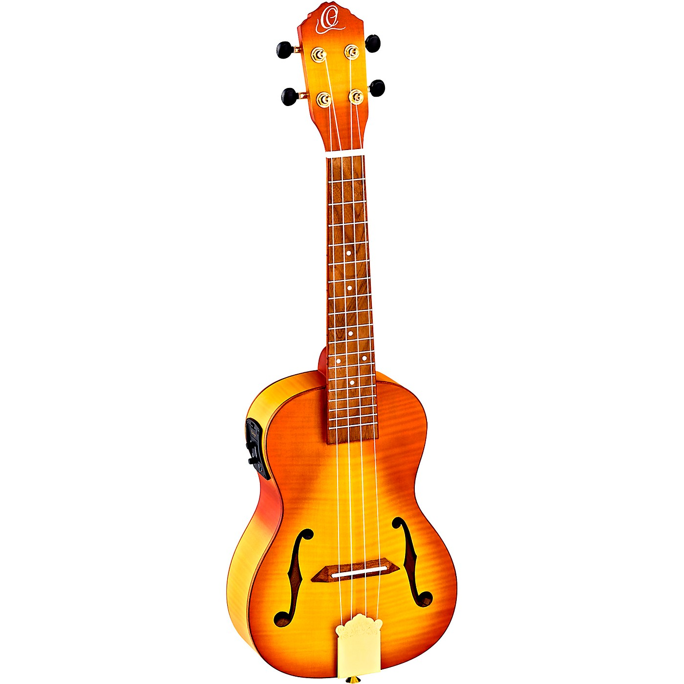 Ortega Saloon Series RUSL-HSB Archtop Concert Acoustic-Electric Ukulele thumbnail
