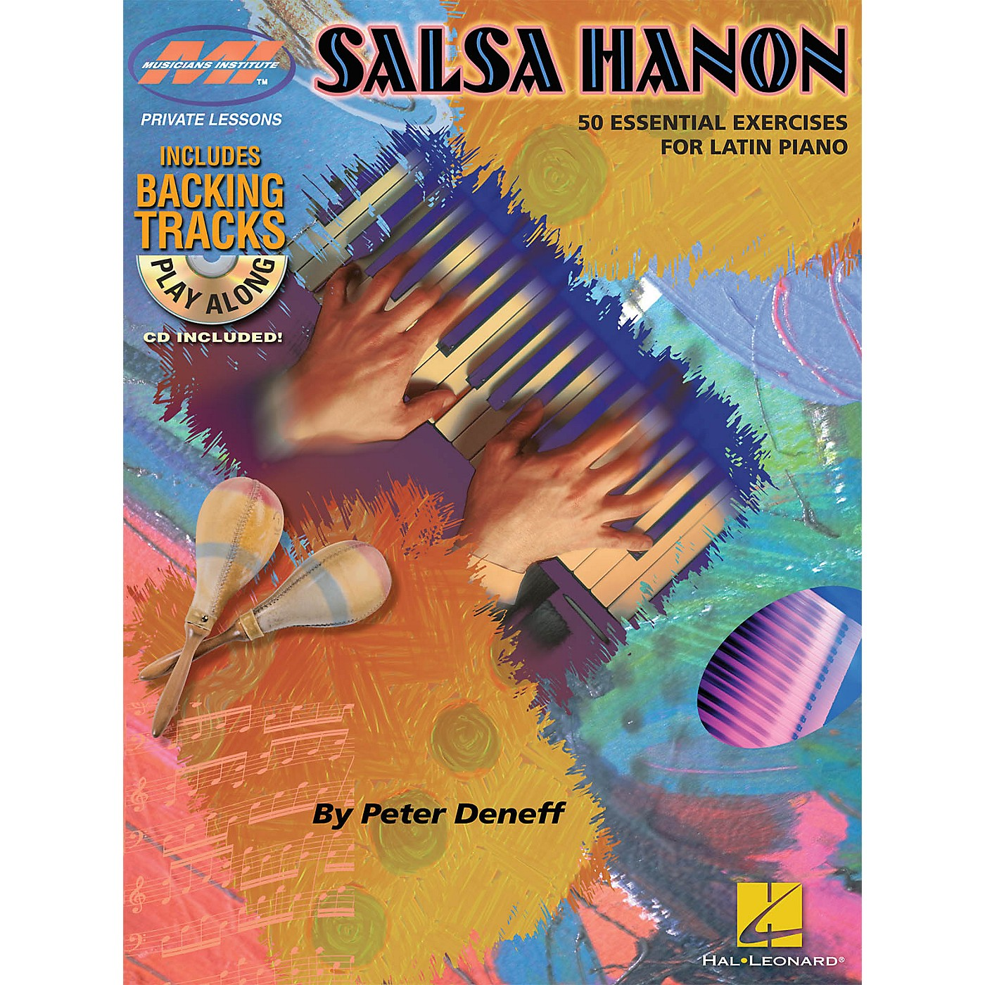 Musicians Institute Salsa Hanon Play-Along Musicians Institute Press Series Softcover with CD Written by Peter Deneff thumbnail