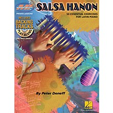 Musicians Institute Salsa Hanon Play-Along Musicians Institute Press Series Softcover with CD Written by Peter Deneff