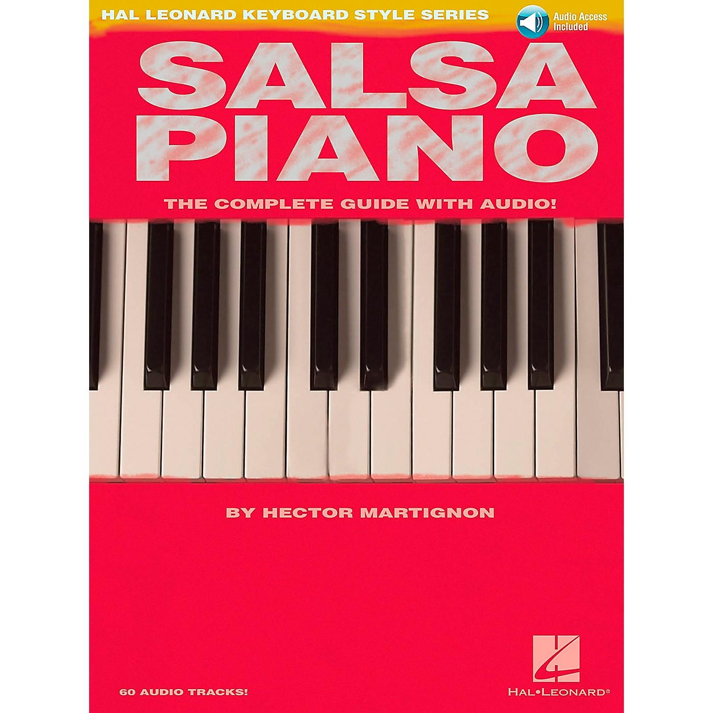 Hal Leonard Salsa Piano Book/CD Hal Leonard Keyboard Style Series thumbnail