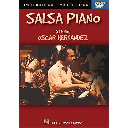 Hal Leonard Salsa Piano DVD - Featuring Oscar Hernandez thumbnail