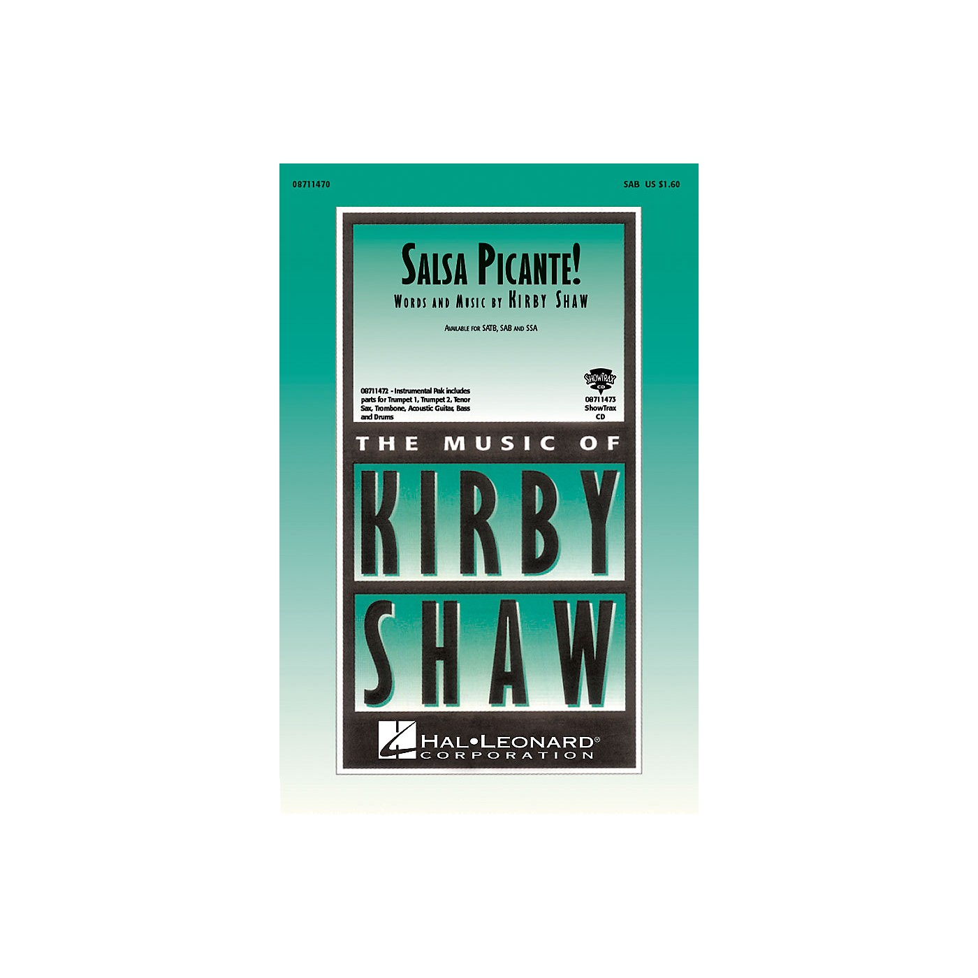 Hal Leonard Salsa Picante! SAB composed by Kirby Shaw thumbnail