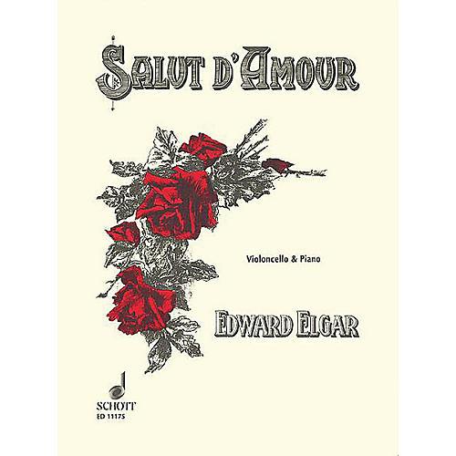 Schott Salut d'Amour, Op. 12, No. 3 (Cello and Piano) Schott Series thumbnail