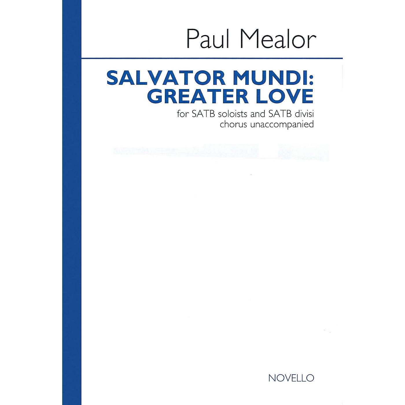 Novello Salvator Mundi: Greater Love SATB DV A Cappella Composed by Paul Mealor thumbnail