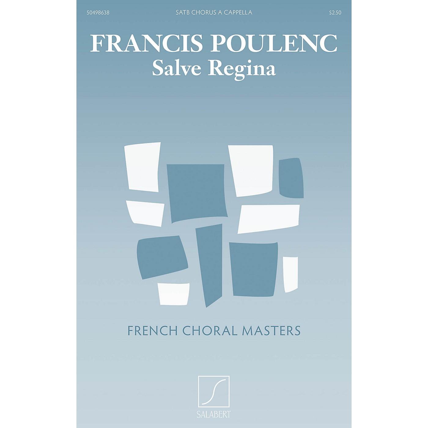 Salabert Salve Regina (SATB a cappella) SATB Composed by Francis Poulenc thumbnail