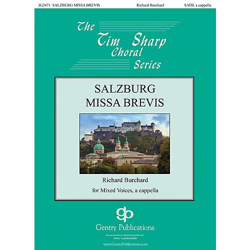 Gentry Publications Salzburg Missa Brevis SATB a cappella composed by Richard Burchard thumbnail