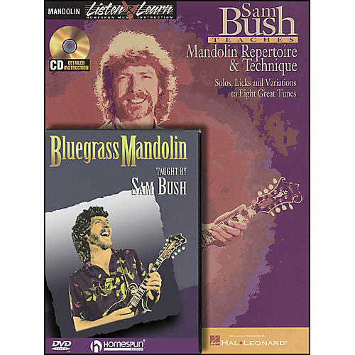Hal Leonard Sam Bush Mandolin Bundle Pack (Book/CD/DVD) thumbnail