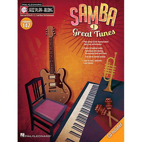 Hal Leonard Samba - Jazz Play-Along Volume 147 Book/CD thumbnail