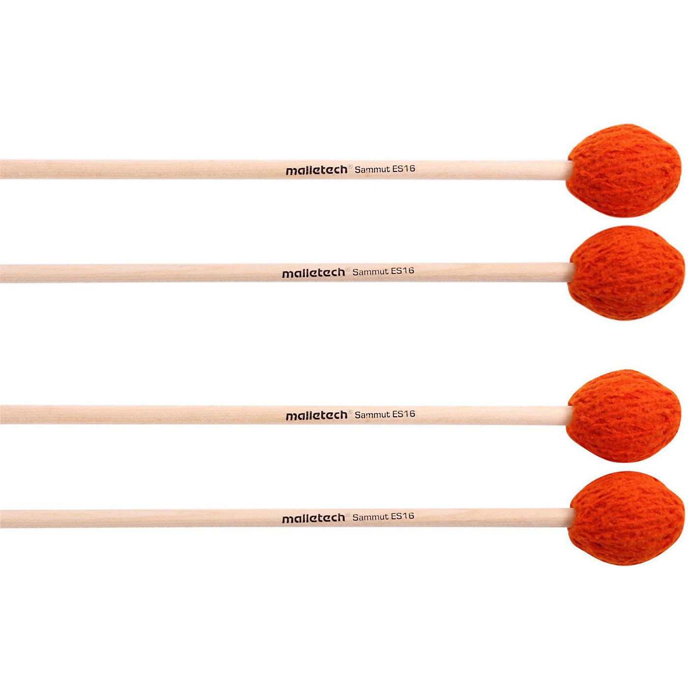 Malletech Sammut Marimba Mallets Set of 4 (2 Matched Pairs) thumbnail