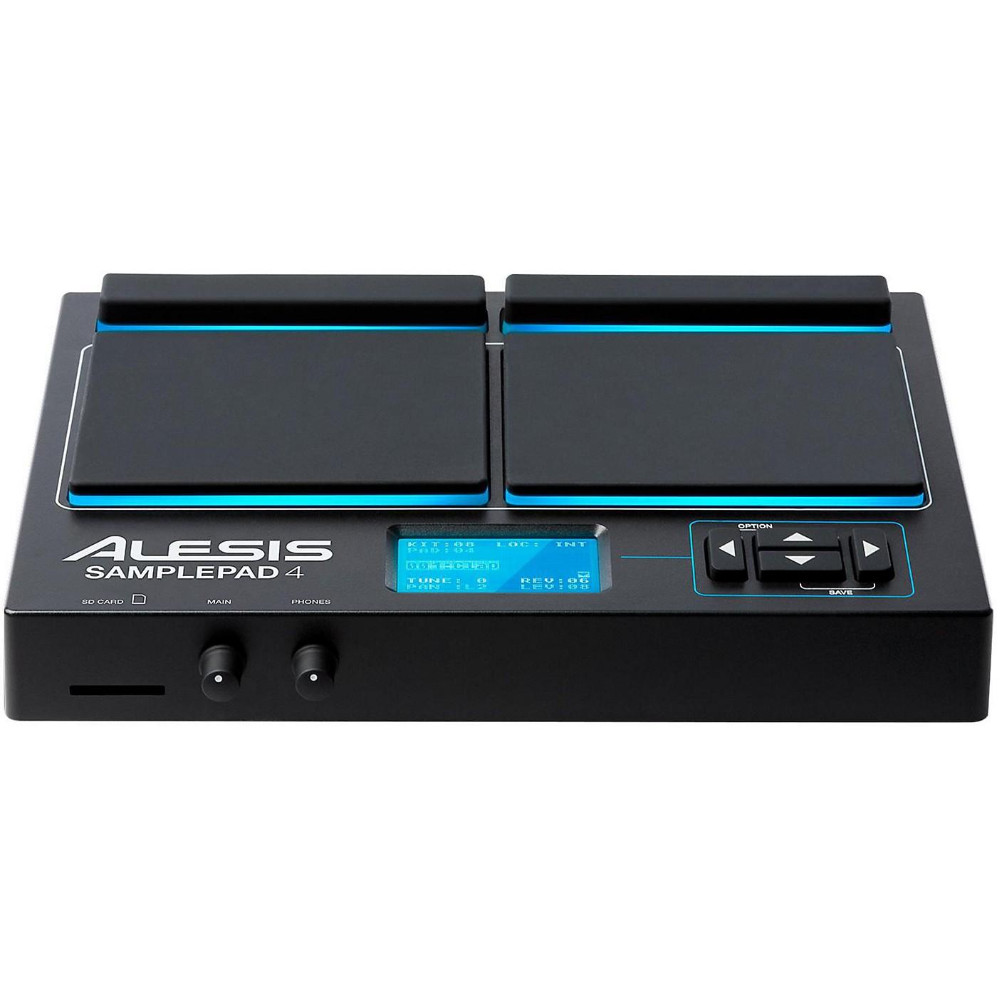 Alesis Sample Pad 4 Percussion and Sample-Triggering Instrument thumbnail