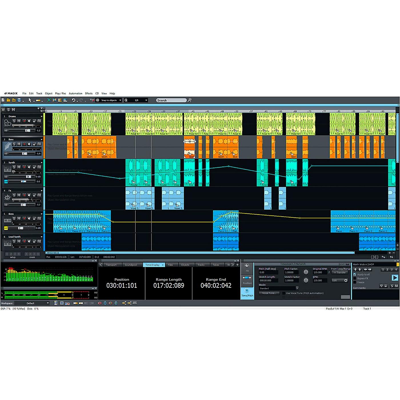 Magix Samplitude Music Studio 2019 thumbnail