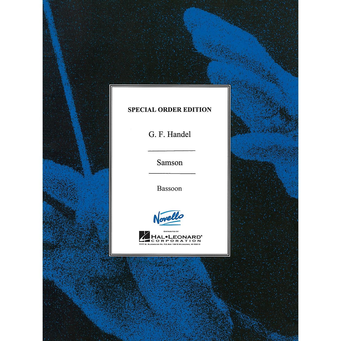 Novello Samson Music Sales America Series Book by George Frideric Handel thumbnail