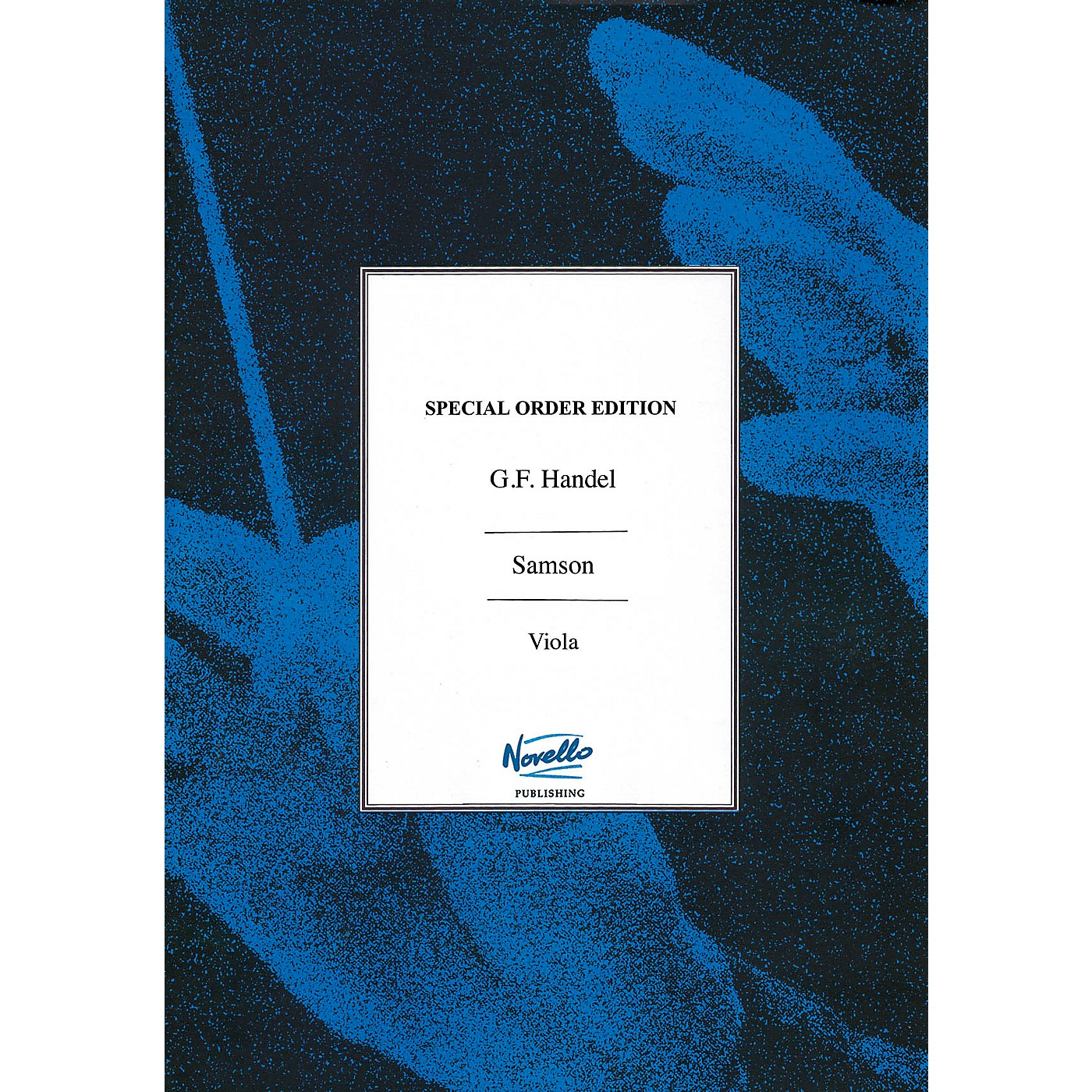 Novello Samson (Viola Part) Music Sales America Series Softcover Composed by George Frederic Handel thumbnail