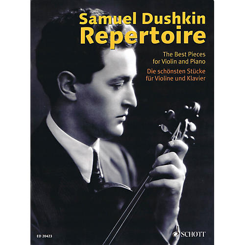 Schott Samuel Dushkin Repertoire (The Best Pieces for Violin and Piano) String Series Softcover thumbnail