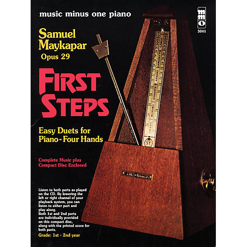 Music Minus One Samuel Maykapar - First Steps, Op. 29 Music Minus One Series Softcover with CD thumbnail
