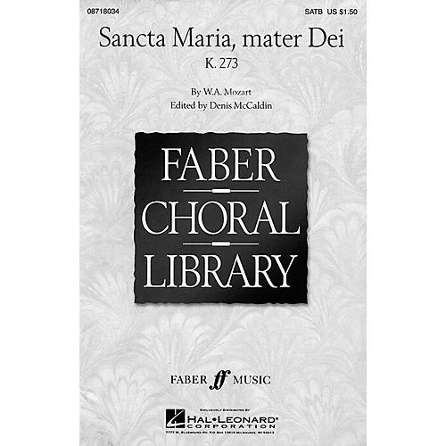 Hal Leonard Sancta Maria, Mater Dei (SATB) SATB arranged by Denis McCaldin thumbnail