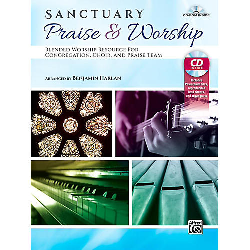 Alfred Sanctuary Praise & Worship - Book & CD-ROM thumbnail
