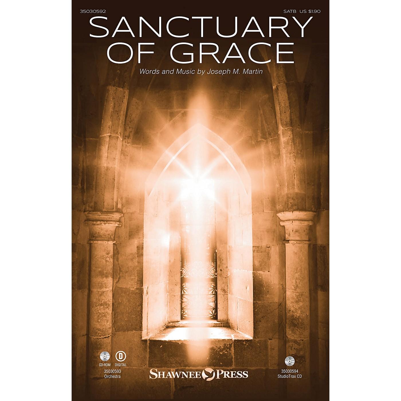 Shawnee Press Sanctuary of Grace ORCHESTRA ACCOMPANIMENT Composed by Joseph M. Martin thumbnail