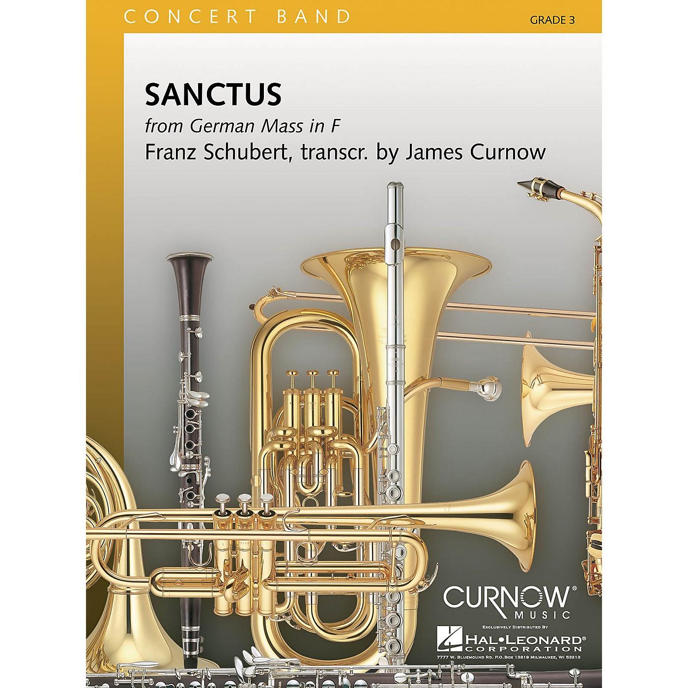 Curnow Music Sanctus (Grade 3 - Score and Parts) Concert Band Level 3 Arranged by James Curnow thumbnail