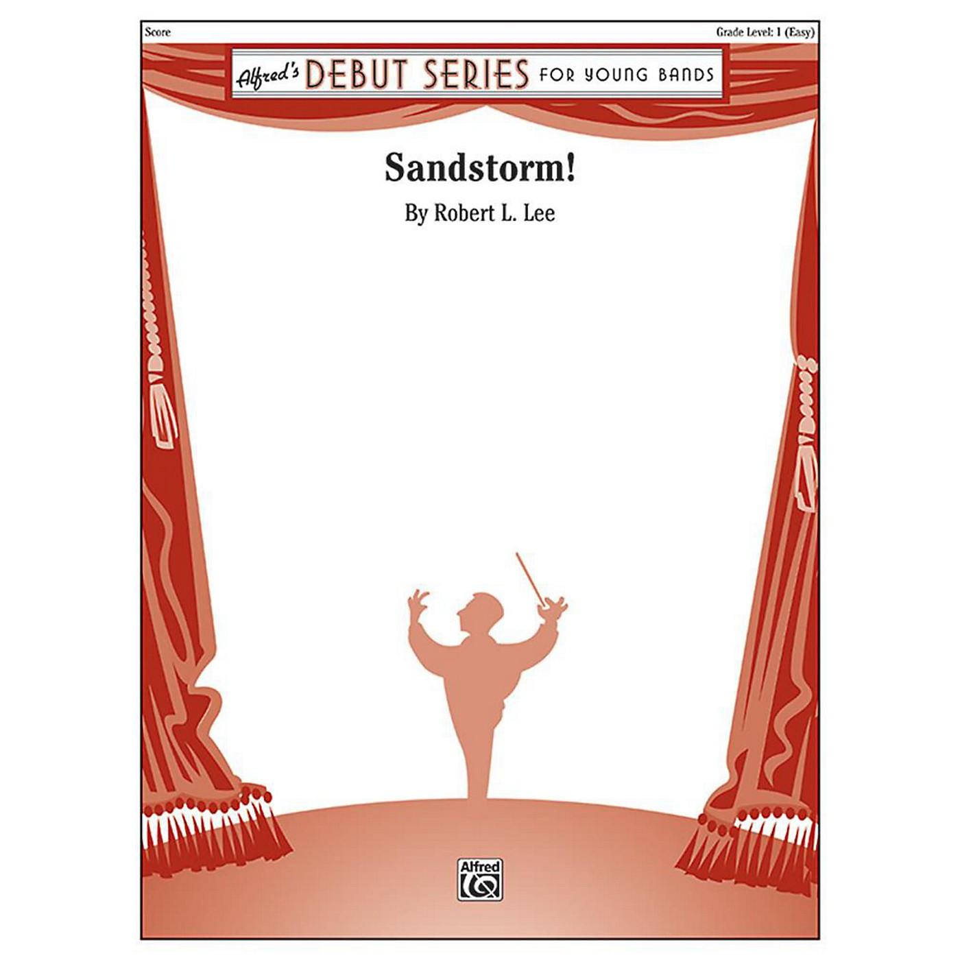 Alfred Sandstorm! Concert Band Grade 1 Set thumbnail